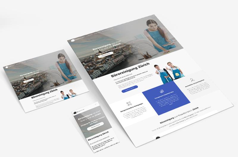 büro-reinigung-zürich.ch – Webagentur aus Zürich & Aargau für Webdesign