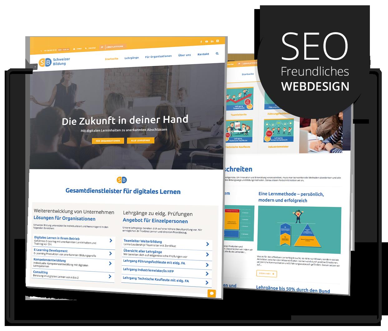 Webdesign Agentur In Zürich Aargau Für Top Webdesign